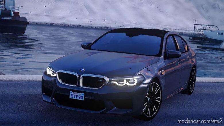 BMW M5 F90 V1R70 [1.41.X] for Euro Truck Simulator 2