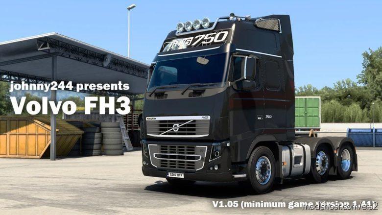 Volvo FH 3RD Generation V1.05 [1.41.X] for Euro Truck Simulator 2