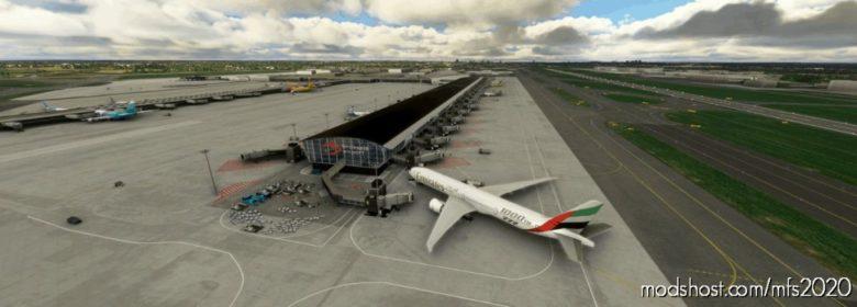 Ebbr – Brussels Airport [Work In Progress] V0.01 for Microsoft Flight Simulator 2020