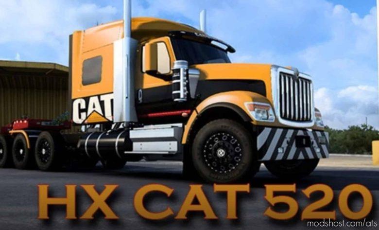 International HX520 CAT Skin for American Truck Simulator