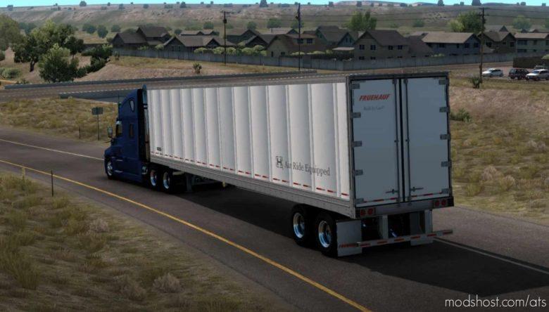Ownable Fruehauf BOX [1.41] for American Truck Simulator