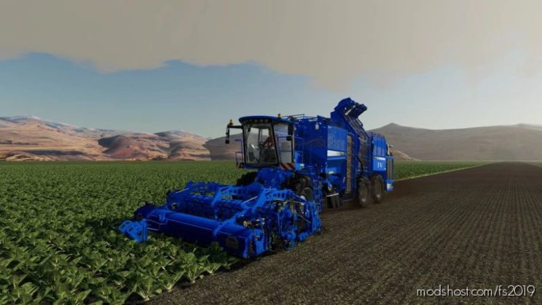 Holmer Terra DOS T4-40 S-Edition for Farming Simulator 19
