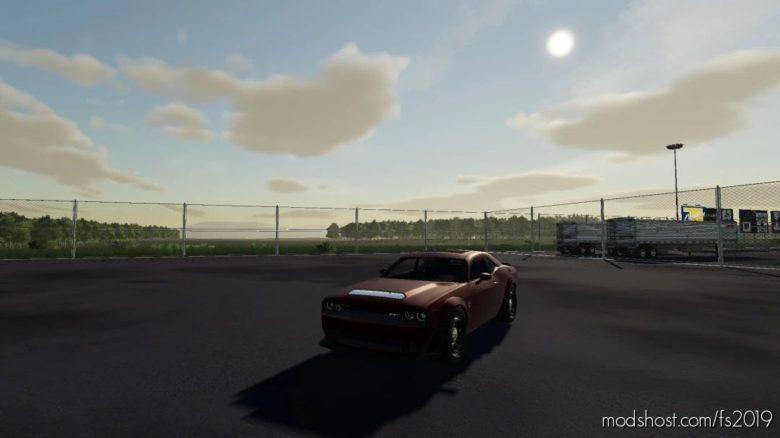 Dodge Demon for Farming Simulator 19