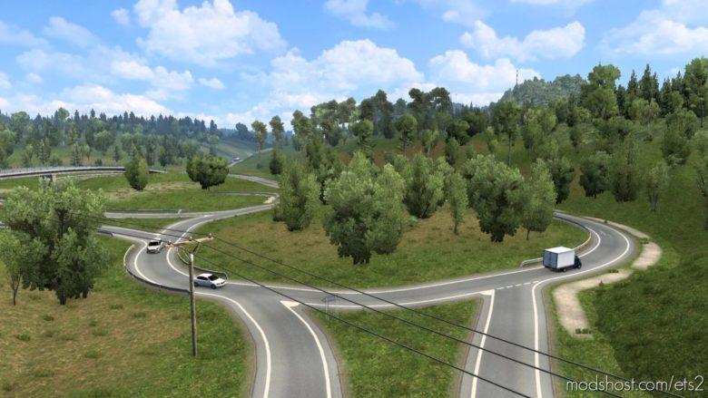 East Duisburg Improvement Mod For Calais-Duisburg Road [1.41.X] for Euro Truck Simulator 2