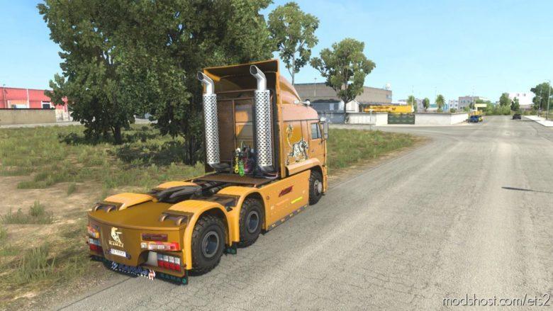 Kamaz 6460 Turbo Diesel 01.08.2021 [1.41.X] for Euro Truck Simulator 2