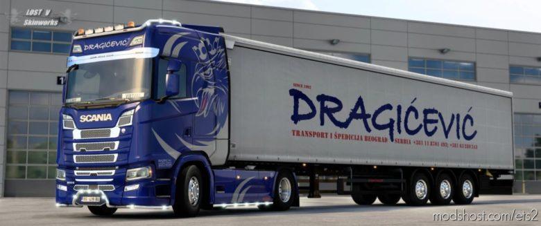 Dragićević Scania S Combo for Euro Truck Simulator 2