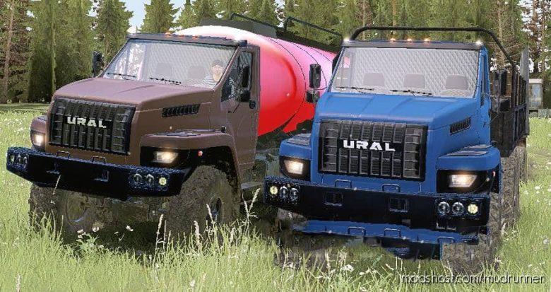 Ural Next Limited Version 30.07.21 for MudRunner