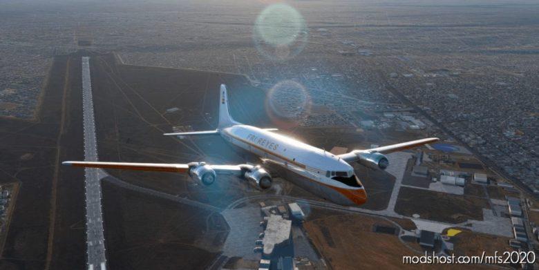 FRI Reyes – Pmdg DC-6A – CP1650 for Microsoft Flight Simulator 2020
