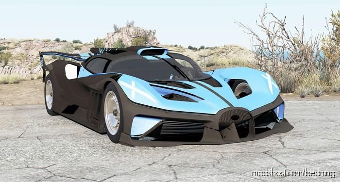Bugatti Bolide 2020 for BeamNG.drive