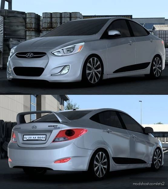 Hyundai Accent RB 2011 V6.1 [1.41.X] for Euro Truck Simulator 2