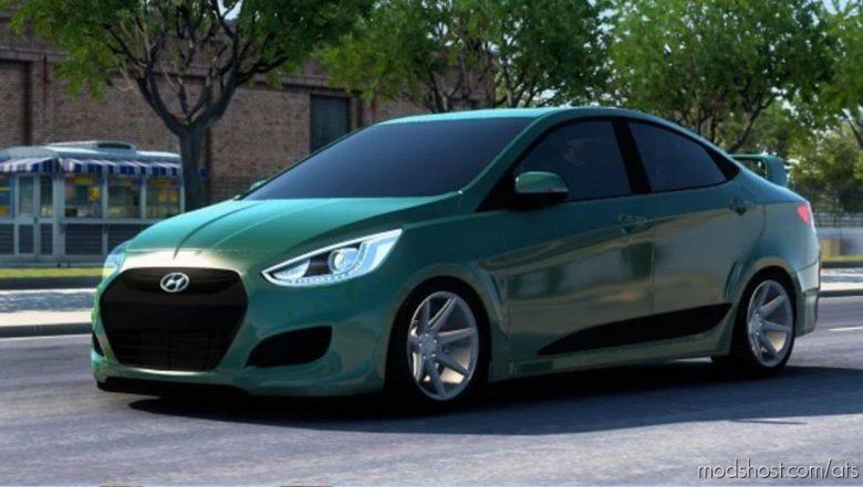 Hyundai Accent RB 2011 V6.1 [1.41] for American Truck Simulator