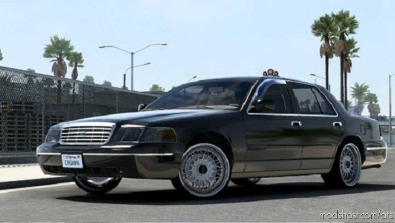 Ford Crown Victoria 2012 V5.1 [1.41] for American Truck Simulator