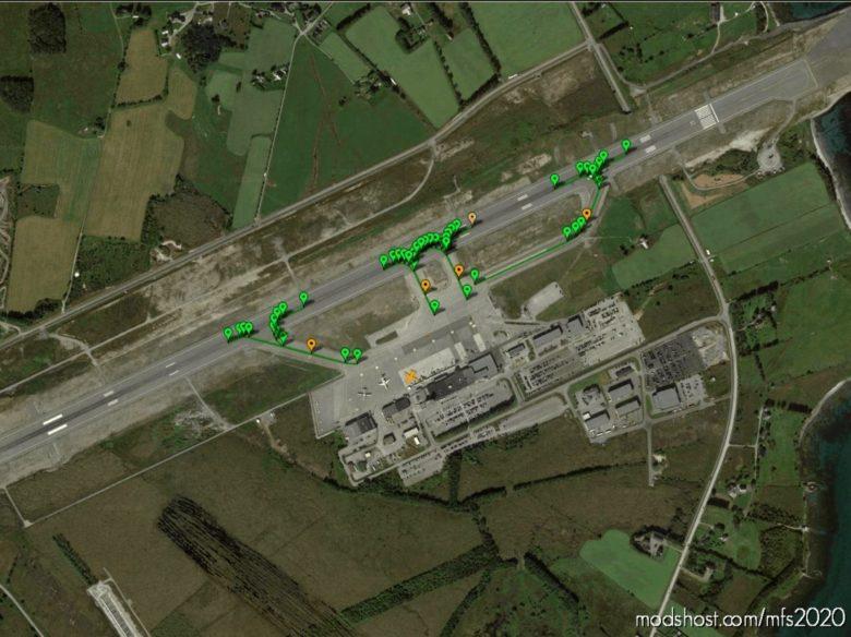 Pilot2Atc Ålesund Airport, Vigra Enal Taxiways And Gates for Microsoft Flight Simulator 2020