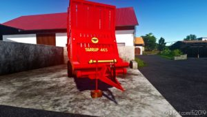 Taarup/Kverneland 465 for Farming Simulator 19