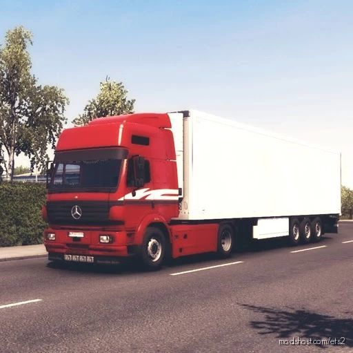 Mercedes Benz SK V1.41 for Euro Truck Simulator 2