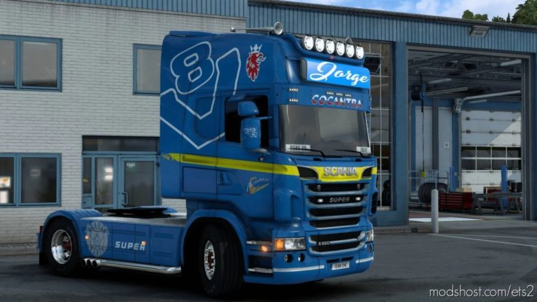 Scania R580 Jorge Skin for Euro Truck Simulator 2