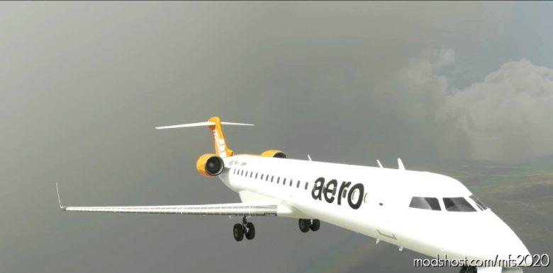 [8K] Aero Contractors CRJ-700 for Microsoft Flight Simulator 2020