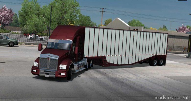 Ownable Peerless Drop Center Chipvan [1.41] for American Truck Simulator