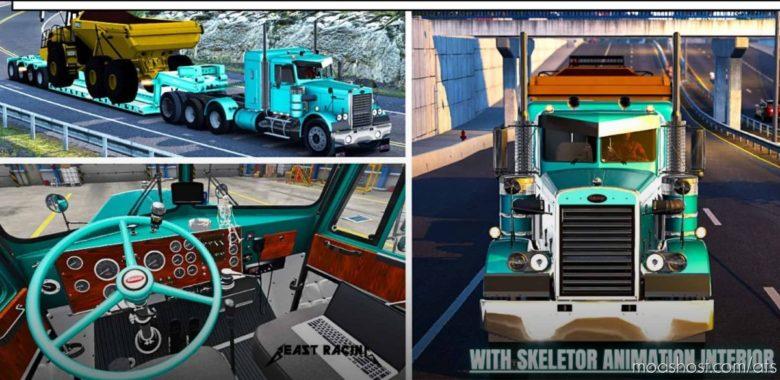 Classic Edition Of Peterbilt 281/351 MTG [1.41] for American Truck Simulator