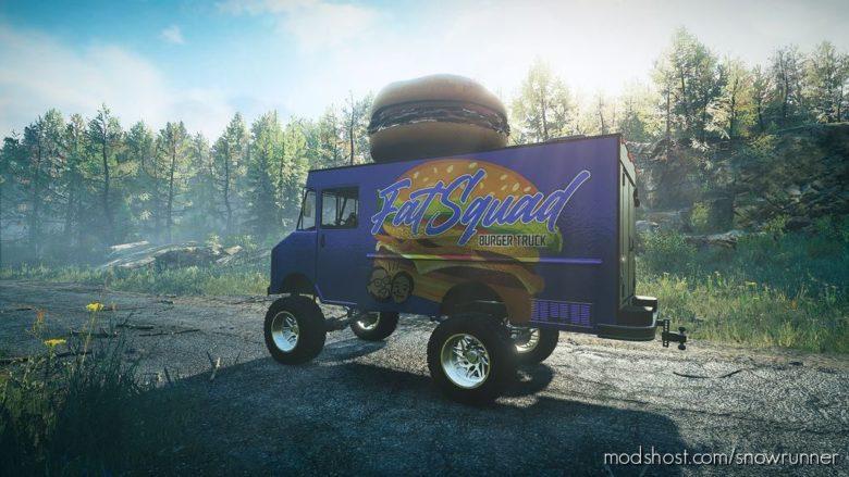 Fatsquad Food Truck for SnowRunner