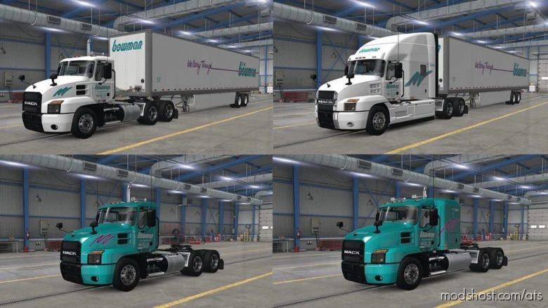 Skinpack By Ankrpl V1.7 for American Truck Simulator