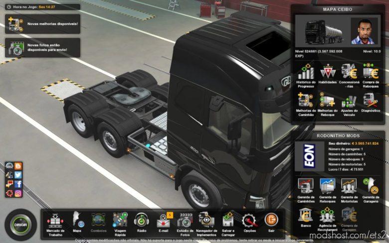 Profile Map Mapa Ceibo 1.8 [1.41.X] By Rodonitcho Mods [1.41.X] for Euro Truck Simulator 2