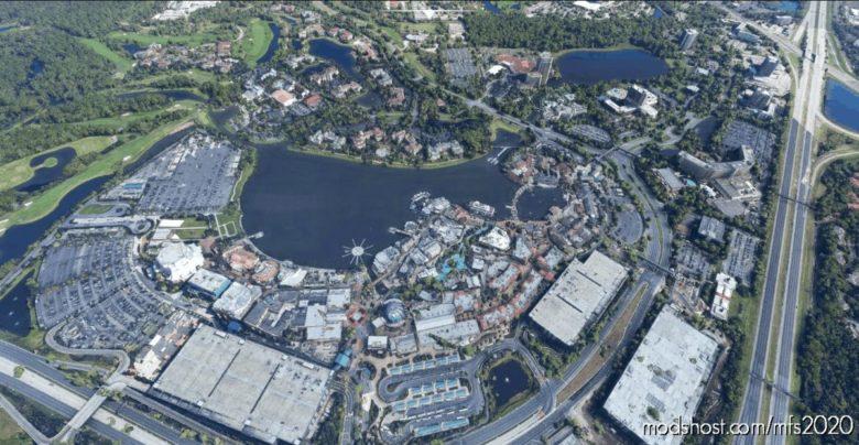 Disney Springs V0.5 for Microsoft Flight Simulator 2020