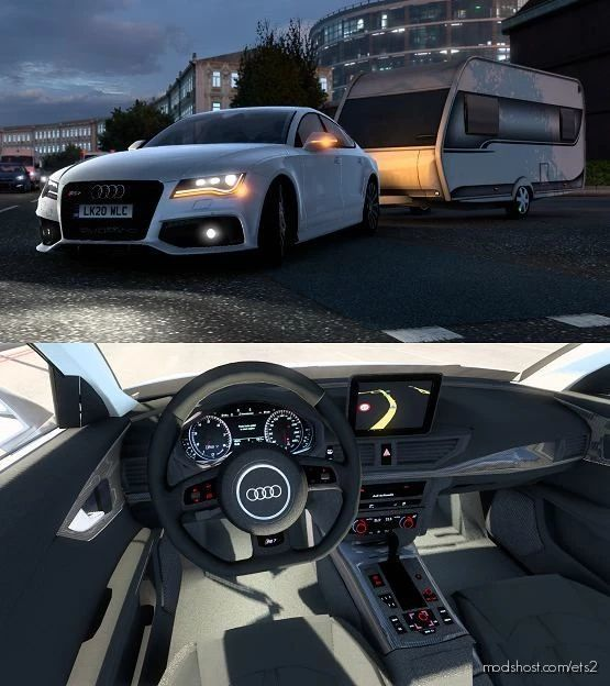 Audi RS 7 Sportback 2013 4G8 V4 [1.41.X] for Euro Truck Simulator 2