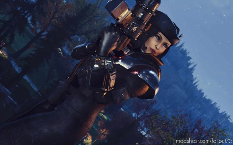 Ranger Elite Outfit Dark Retexture for Fallout 76