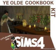Olde Cookbook KIT – V.0.3 for The Sims 4