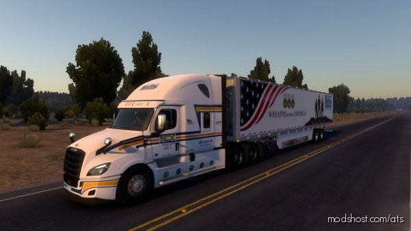 Interstate Carrier Xpress Skin for American Truck Simulator