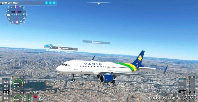 [A32NX] Varig Seleção for Microsoft Flight Simulator 2020