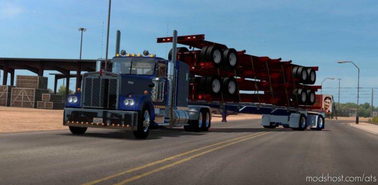 Ownable Wilson Flatbed Custom [1.41] for American Truck Simulator
