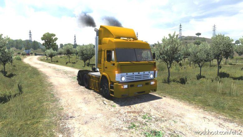 Kamaz 54115 Turbo [1.41.X] for Euro Truck Simulator 2