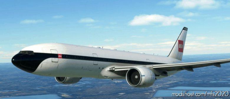 Captain SIM 777-200 British European Airways [8K Fictional] for Microsoft Flight Simulator 2020