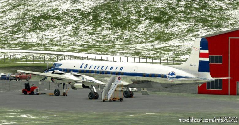 Pmdg DC-6B – Loftleiðir Icelandic V2.1 for Microsoft Flight Simulator 2020