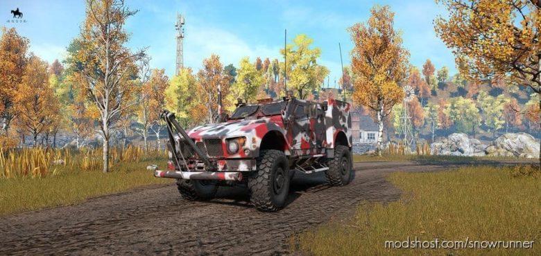 RNG MPV Multi Purpose Vehicle V for SnowRunner