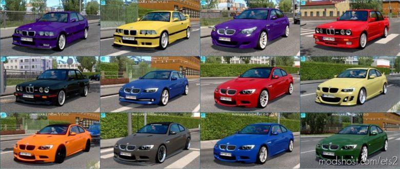 BMW Traffic Pack [1.41.X] for Euro Truck Simulator 2
