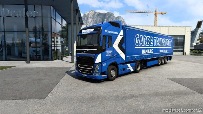 Combo Skin Garbe for Euro Truck Simulator 2