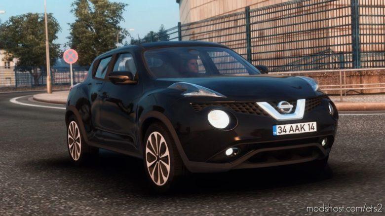 Nissan Juke [1.40 – 1.41] for Euro Truck Simulator 2