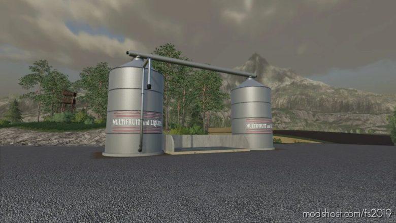 Silo Multifruit And Liquid for Farming Simulator 19