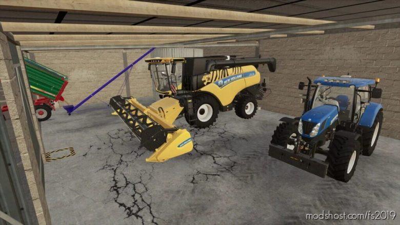 Garage With Silo for Farming Simulator 19