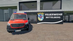 Mercedes Sprinter L2 H1 Safj for Farming Simulator 19