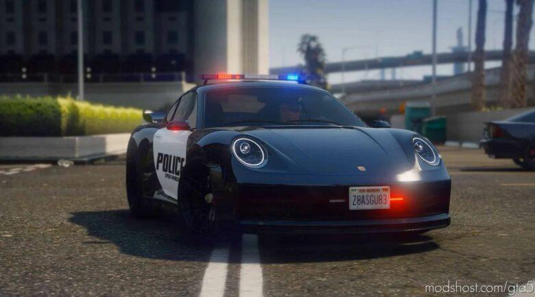 Pfister Comet S2 Police SE for Grand Theft Auto V