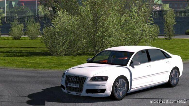 Audi A8 D3 V4 [1.41.X] for Euro Truck Simulator 2