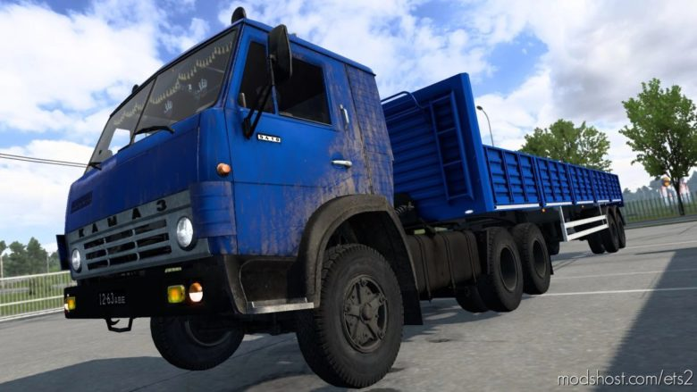 Kamaz Pack + Trailers Pack [1.40] for Euro Truck Simulator 2