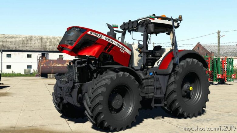 Massey Ferguson 8700S Edit for Farming Simulator 19
