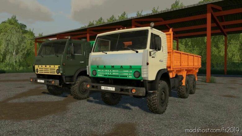 Kamaz 4310 V1.0.0.3 for Farming Simulator 19