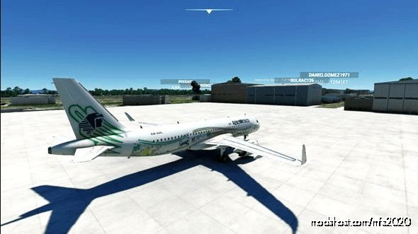 """Livery Aeromexico """"Quetzalcóatl"""" for Microsoft Flight Simulator 2020"""