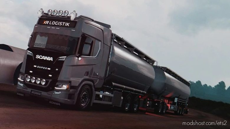 Feldbinder KIP Rigid Addon For Tandem Addon By Kast V1.6.1 [1.41.X] for Euro Truck Simulator 2